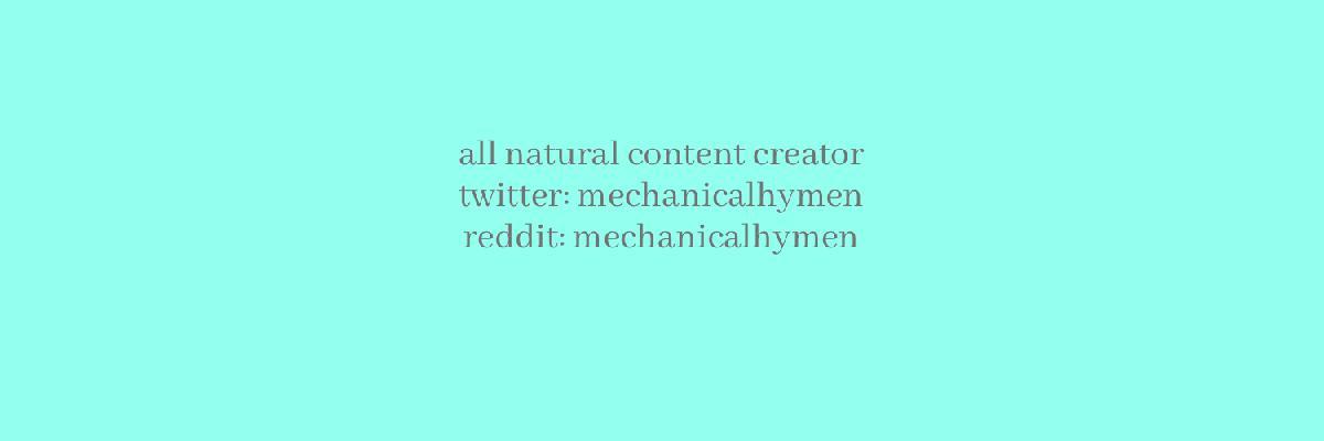 @mechanicalhymen